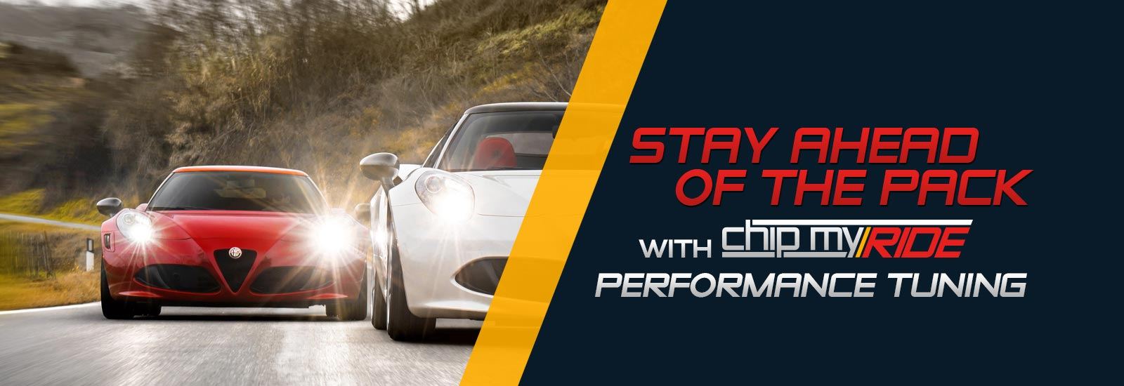 Stay ahead of the pack with performance chip tuning